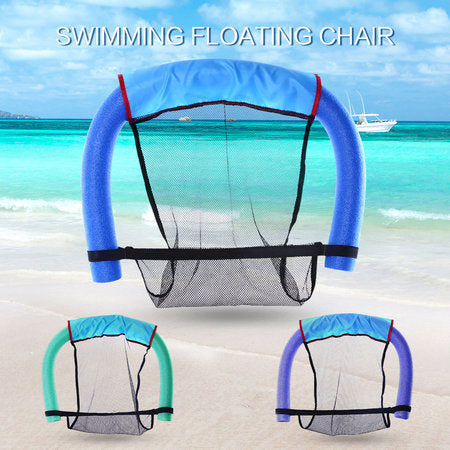 Pool Floating Chair Dual Swimming Noodle Detachable Bed Buoyant Foam Stick Beach Swim Helper Tool