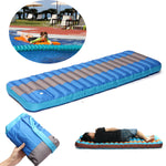 183CM Portable Beach Pool Floating Bed Inflatable Travel Sleeping Mat Foldable Moisture-Proof Pad