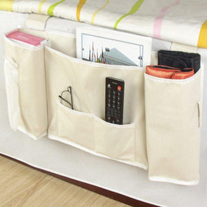 Bedside Hanging Bag Magazine Storage Bag Sofa Bag