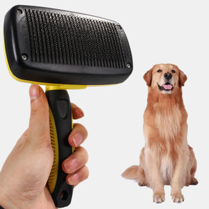 Cat And Dog Telescopic Open Knot Comb Pet Comb Hair Loss Beauty Hair Removal Hair Removal To Floating Hair