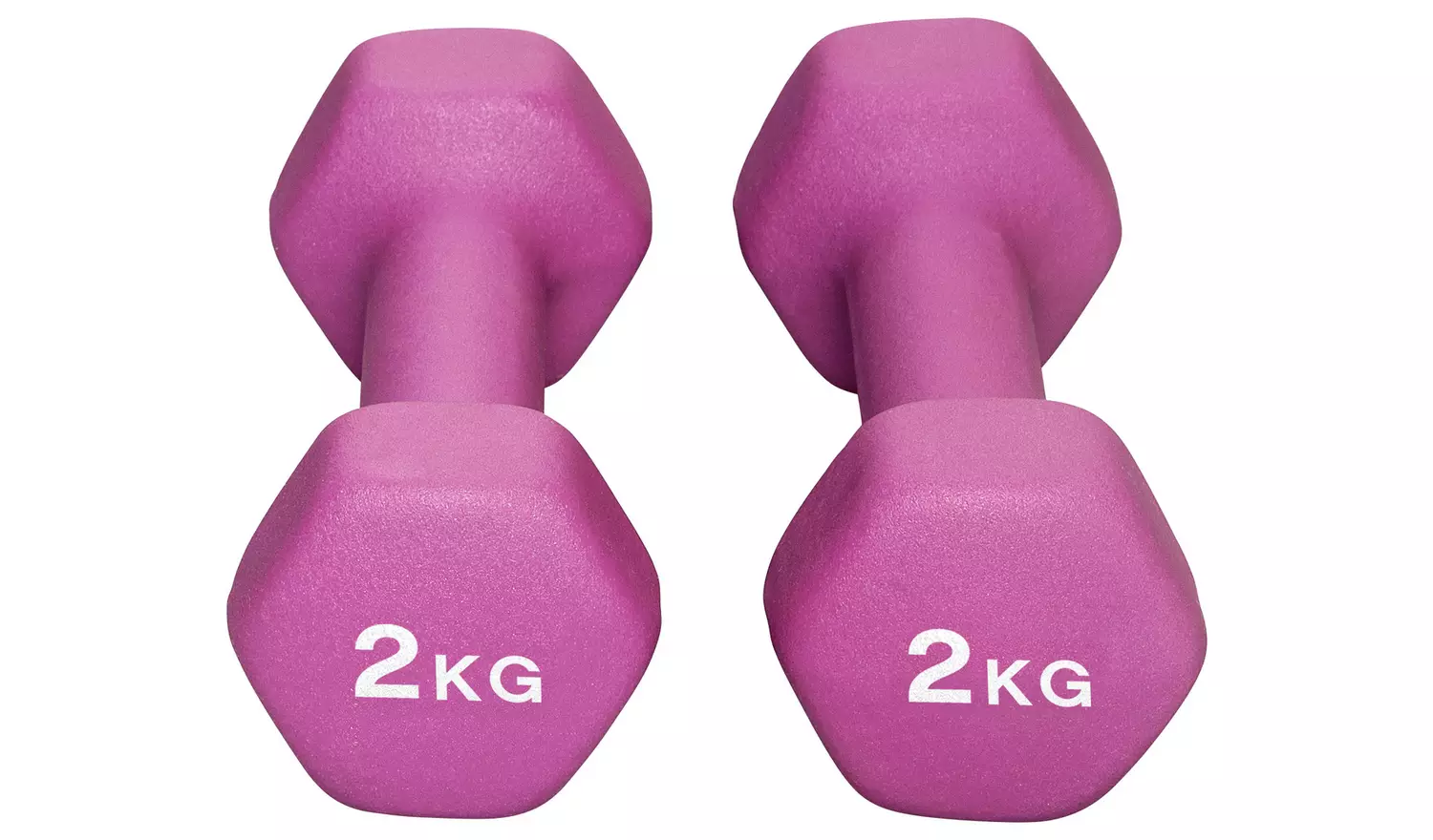 Women's Health Neoprene Dumbbell Set - 2 x 2kg