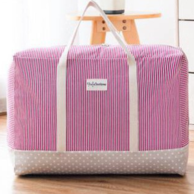 Thick Cotton Linen Clothing Quilt Storage Bag Quilt Washable Finishing Bag Storage Box