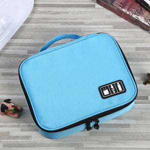 Digital Storage Bag U Disk Mobile Phone Accessories Storage Bag Charger Data Cable Multi-function Storage Bag
