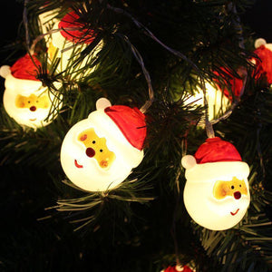 Santa Claus Battery Powered Fairy String Light Creative Decorative Lamp LED Christmas Decoration