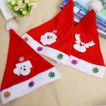 Christmas decorations Santa Claus Hat luminous brushed cloth Christmas hat for children