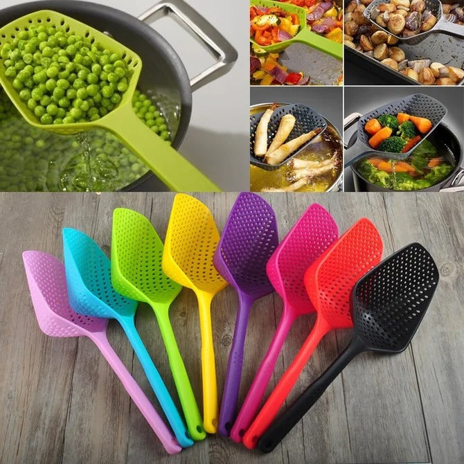 Kitchen Accessories Large Colander Pasta Heat Resistant Strainer