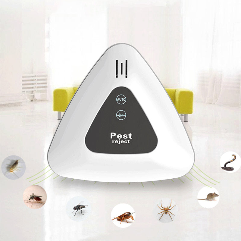Ultrasonic Mosquito Repellent Electronic Insect Repeller Home Intelligent Electronic Fly Repeller