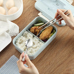 Microwavable Bento Box Lunch Box With Compartments BPA Free Wheat Straw Food Container