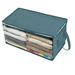 Foldable Household Storage Bag Clothes Blankets Baskets Sweater Quilt Storage Box Organizer