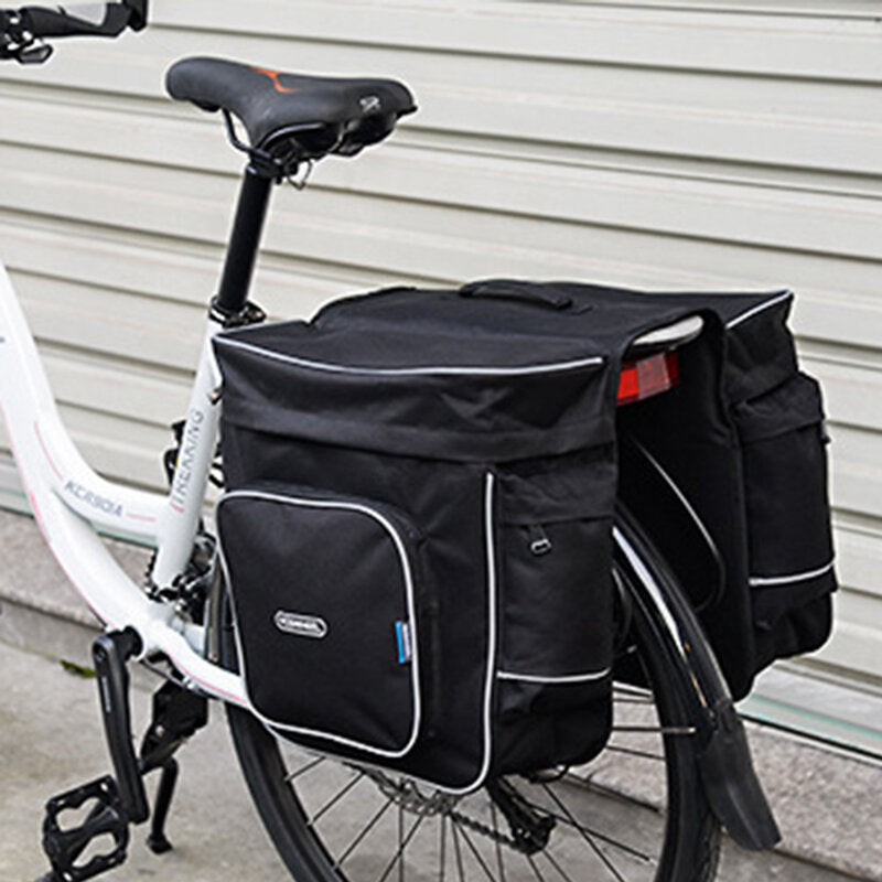 Bicycle Riding Double Side Pack Bag Riding Shelf Bag 30L
