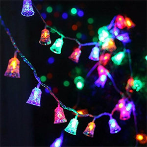 Waterproof Outdoor String Lights Bell Shaped Christmas Tree and New Year Holiday Party Decoration