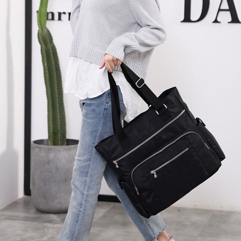 Fashion Casual Women's Handbag 2019 New One-Shoulder Ladies Nylon Light Luggage Bag Handbag