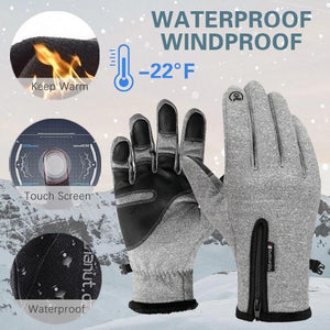 Winter Gloves Men Women Touch Screen Glove Cold Weather Warm Gloves Workout Gloves Running Cycling Training