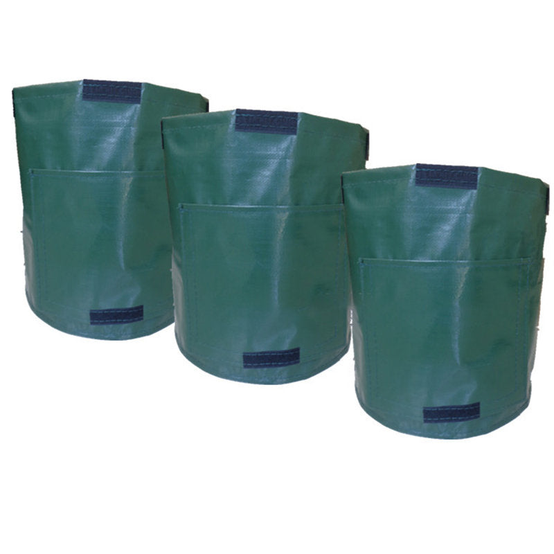Gardening Potato Planting Bag Tomato Vegetable Plant Grow Bag PE Three Color Solid Bag