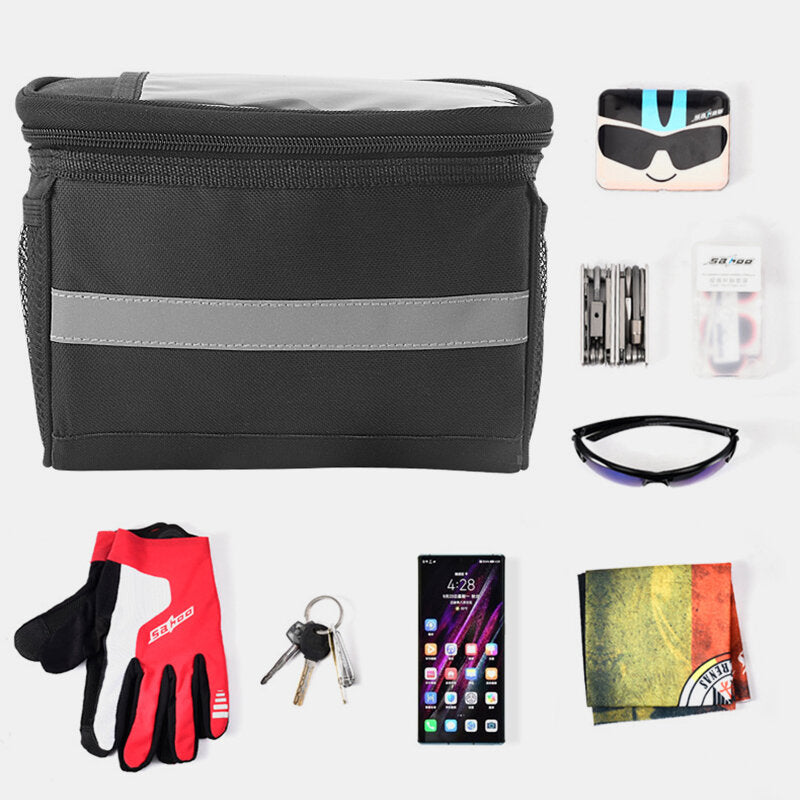 Cross-Border Bike Head Bag Mountain Bike Cycling First Package High Sensitivity Touch Screen Car Before Package Insulation