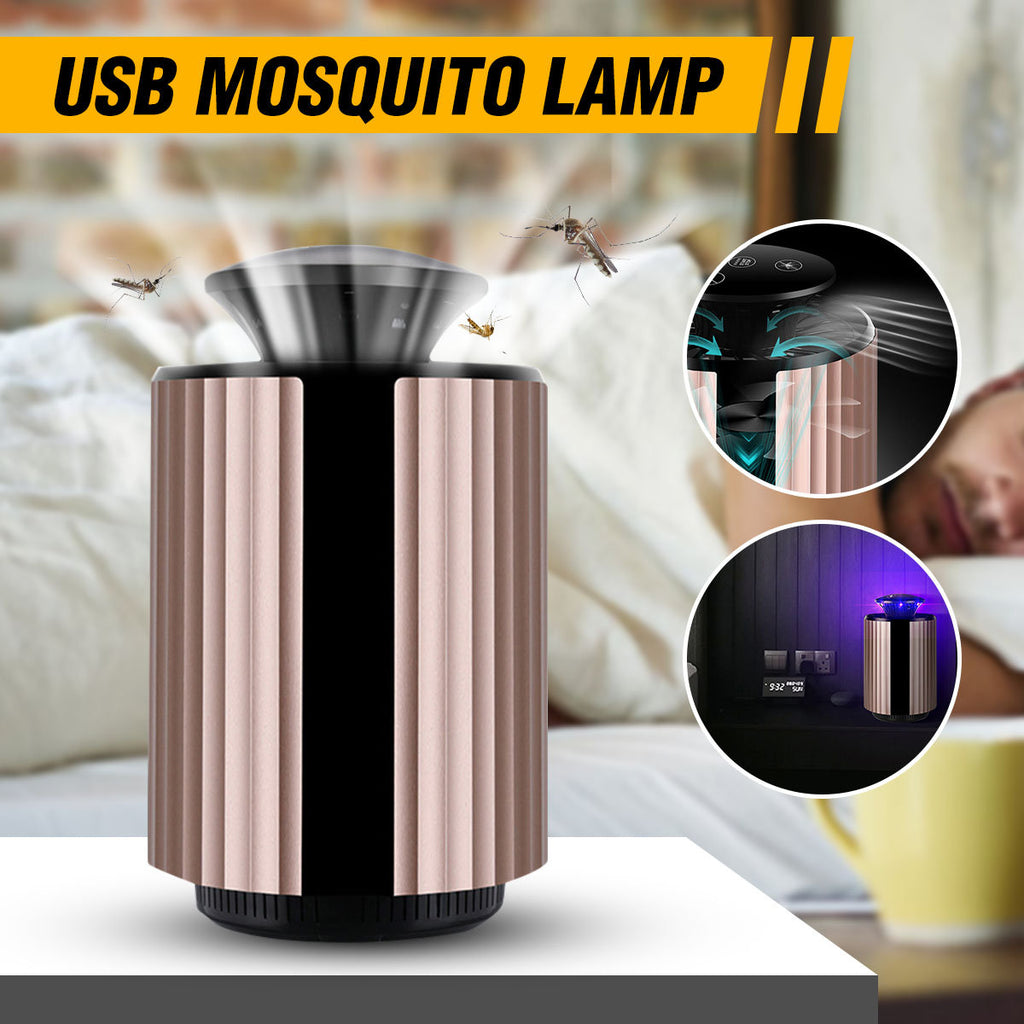 BT-KU02 USB Photocatalyst Mosquito Killer Lamp Insect Dispeller Light Fly Catcher