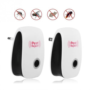 Ultrasonic Electronic Indoor Anti Mosquito Rat Mice Insects Pest Bug Control Repeller