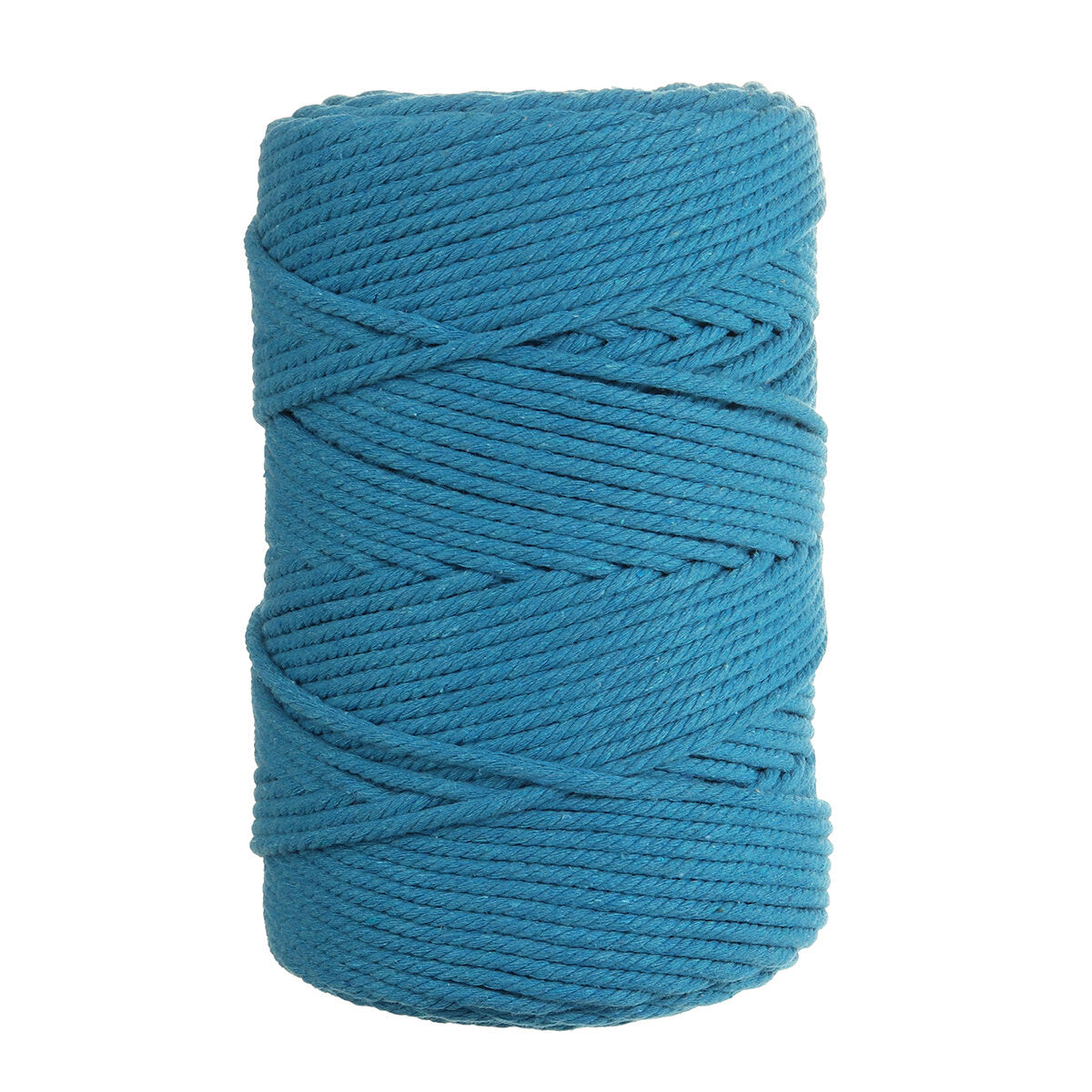 1Pc 200m(281.7 Yards)x4mm Color Cotton Cord Cotton Thread Braiding Cord DIY Crafts Knitting Plant Hangers Christmas Wedding Décor