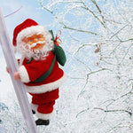 Special Chritmas Electric Climbing Ladder Santa Claus