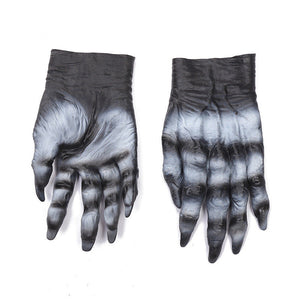 Halloween Costume Party Cosplay Prop Terrorist Zombie Blood Latex Glove Party Decor Supplies 4 Style