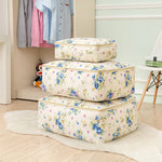 Washable Cotton Linen Clothing Bag Quilt Cabinet Sorting Storage Bag Organizer