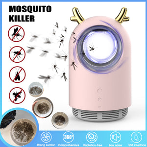 UV Anti Fly Mosquito Killer Lamp USB Electric Mosquito Zapper