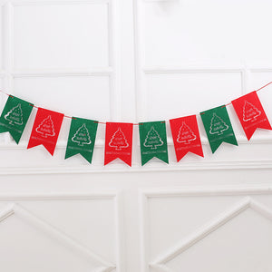 Merry Christmas Banner Sign for Holiday Party Decoration