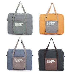 Foldable Waterproof Storage Bag Large Capacity Travel Polyester Handbag
