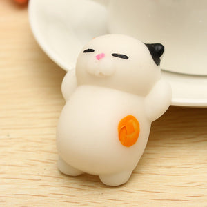 Mochi Cat Kitten Squishy Squeeze Cute Healing Toy Kawaii Collection Stress Reliever Gift Decor