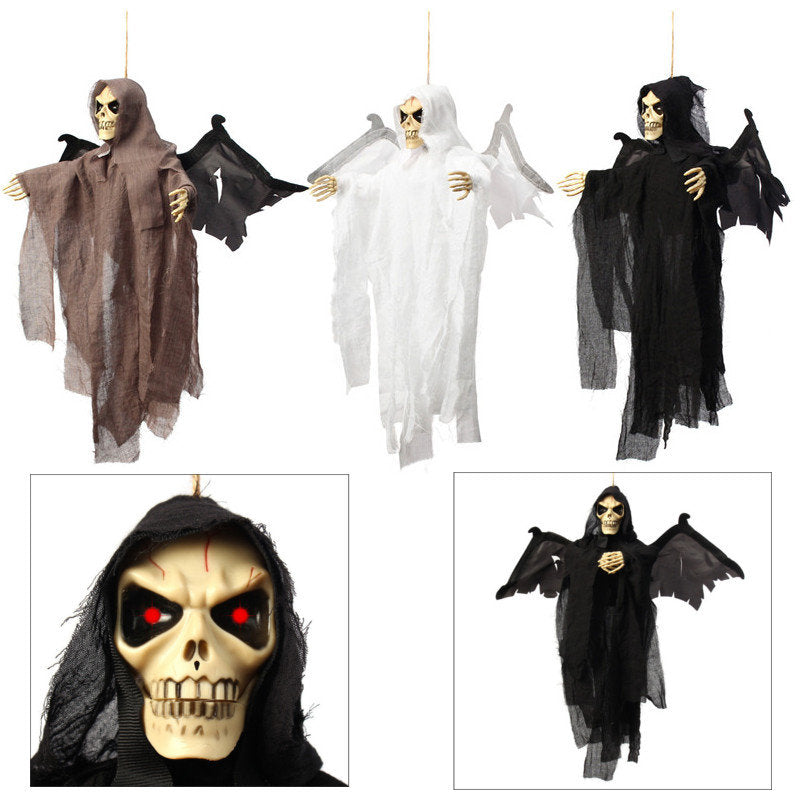 Halloween Prop Hanging Ghost Witch Scary Haunted House Bar Party Decoration