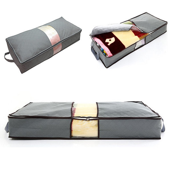 Large Capacity Under Bed Bamboo Charcoal Storage Bags