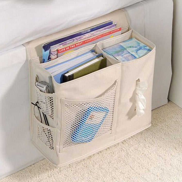 Bedroom Bedside Bag Oxford Cloth StorageBag Sundries Arranged Sofa Bedding Accessory