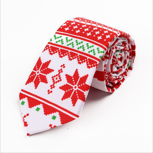 Nordic Style Christmas Ties Desiged For The Christmas Party and Christmas Season Style A prefect Christmas Gift for Male and Female