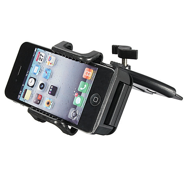 Car CD Dash Slot Mount Holder Dock For CellPhone GPS MP3 MP4 Home Phone Bracket Stand