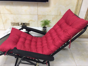 Sun Lounger Garden Furniture Patio Recliner Chairs Relaxer Pad Cushion