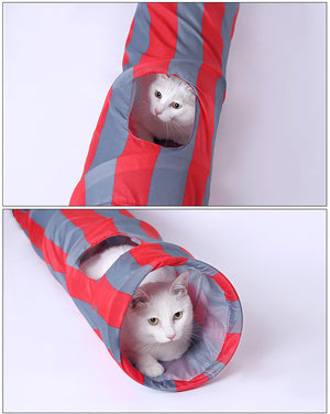 Foldable Cat/Rabbit/Ferret/Guinea pigs Tunnel
