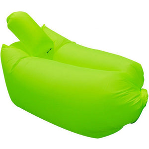 Home Outdoor Lazy Sofa Fast Air Inflatable Couch Lounger Camping Beach Inflatable Hammock Easy Carry