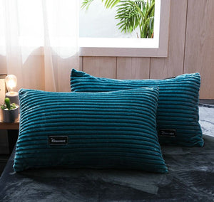Thicken Corduroy Velvet Winter Pillow Case