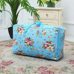Linen Cotton Household Quilt Storage Sorting Bag Duffel Bag Moving Bag Moisture-proof Clothes Bag