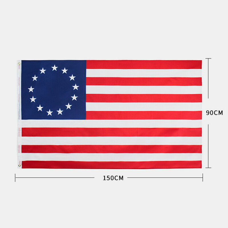 90x150cm American Flag USA Flag Blue Line USA Flag of United States The Stars And The Stripes USA Flag