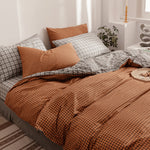3 pcs/sets 100% Cotton Comforter Bedding Sets Duvet Cover Set
