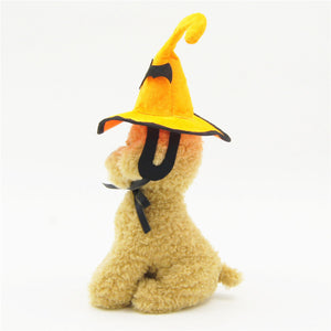 Halloween Pet Hat Adjustable Pet COS Funny Hair Accessories Pet Supplies