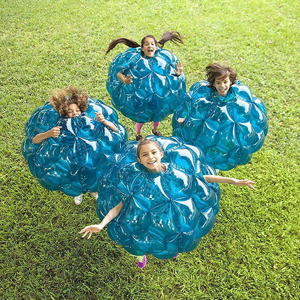 PVC 90cm Inflatable Body Bubble Balls Bumper Zorb Ball Football Buddy Kids Paty Outdoors Activity