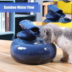 Pet Fountain - Small automatic water drinker for dog cat, water dispenser for cats Fresh, clean water Very quiet, enjoy the water supply with the automatic well