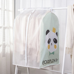 Waterproof Dirt Resistant PVC Hanging Clothes Storage Bag Anti-dirt Clothing Protector