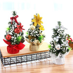 20cm Mini Christmas Tree Flower Table Decor Festival Party Ornaments Gift