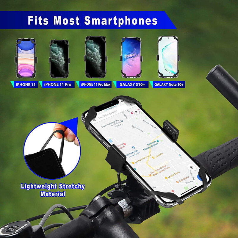 Bike Phone Mount for iPhone 11 PRO Max HuaWei Xiaomi Motorcycle Bicycle Phone Mount Mountain Bike Mount Bike Accessories