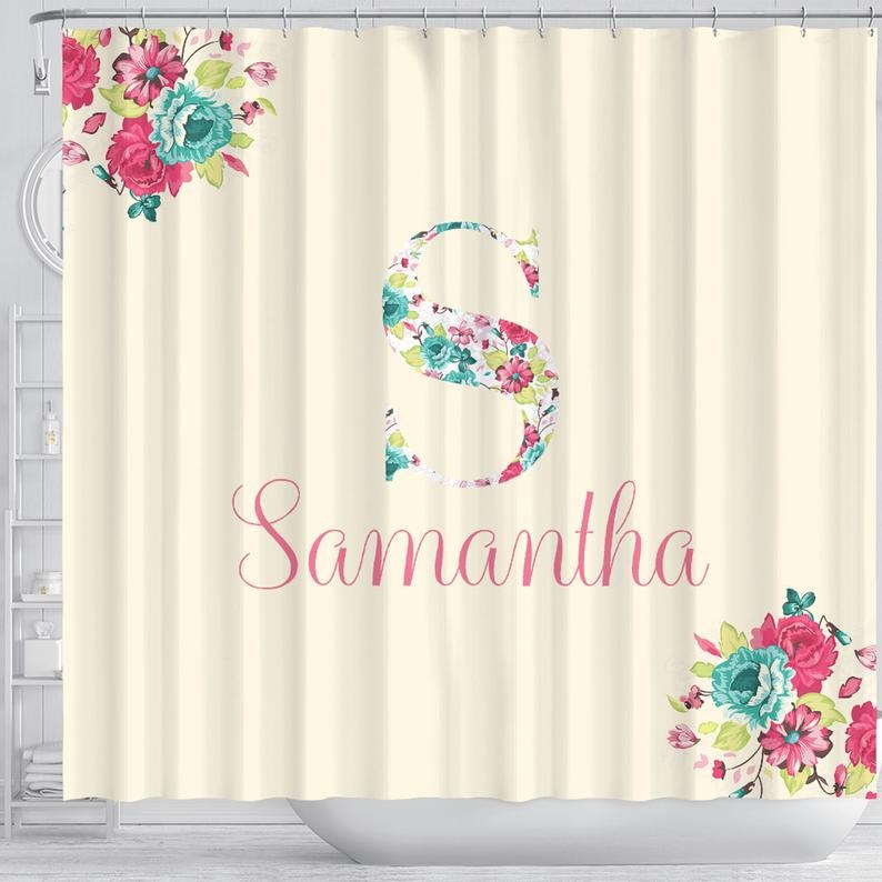 Design Custom Shower Curtain, Bathroom Decoration Curtain, Personalized Photo Curtain, Custom Backdrop, Picture Curtain, Text Saying Curtain