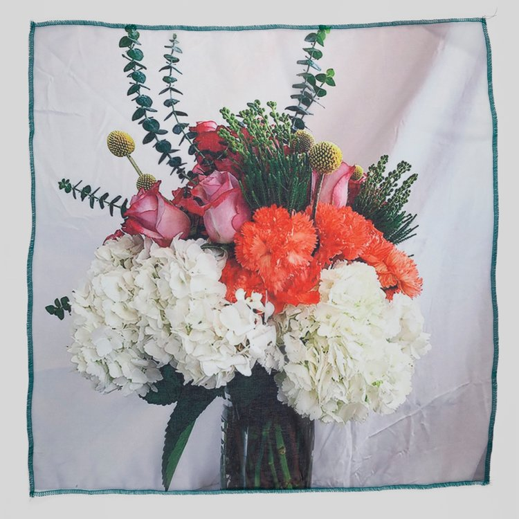 Scarf Vol. 2 by Jaklin Romine // Why Bring Me Flowers When I Am Dead? When You Had The Time To Do It When I Was Alive