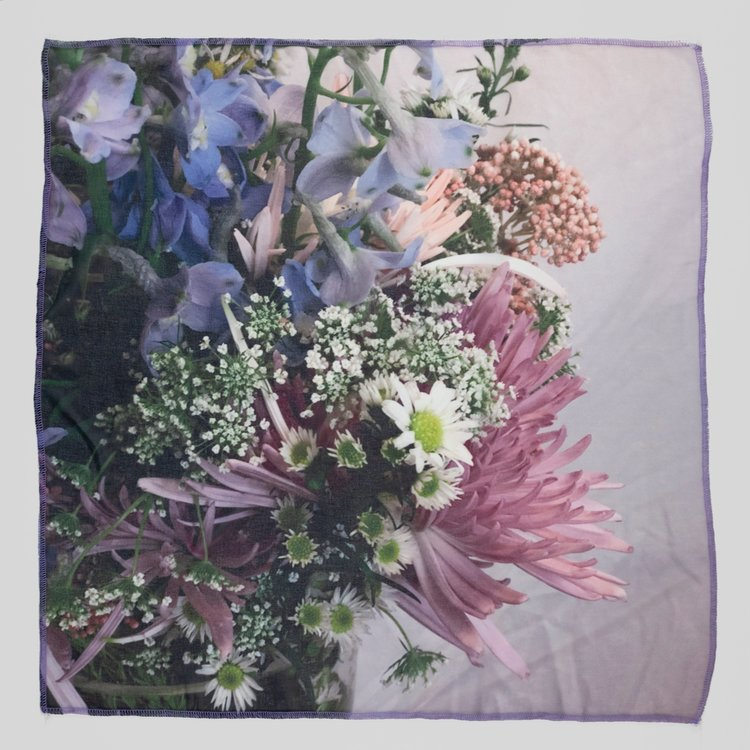 Scarf Vol. 3 by Jaklin Romine // Why Bring Me Flowers When I Am Dead? When You Had The Time To Do It When I Was Alive